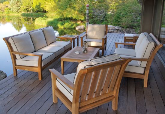 Things to be aware of when buying teak patio furniture for Teak outdoor furniture