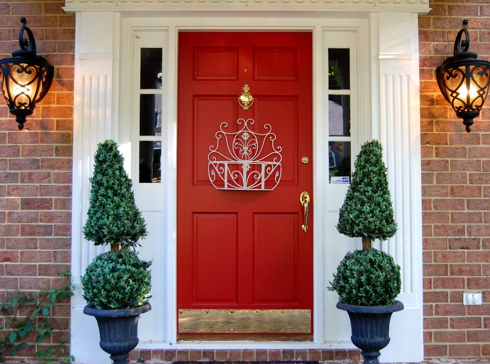 Tips And Hints On Front Door Decoration Ck Vango