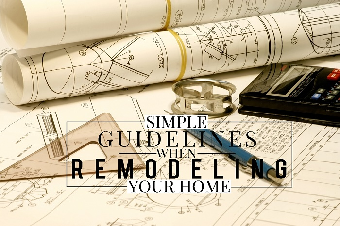 house remodeling guidelines