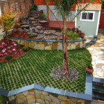 P3 - grass in pavers