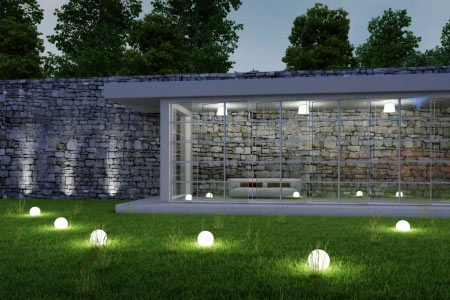 backyard landscaping and architecture