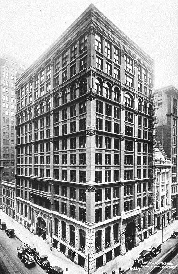 1800's skyscraper