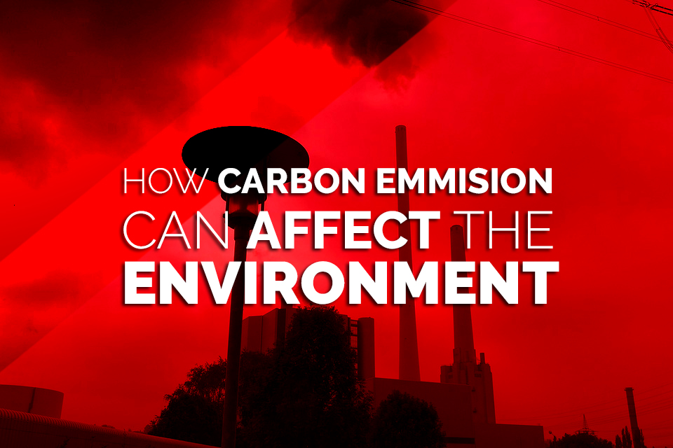 how carbon emissions can effect the environment