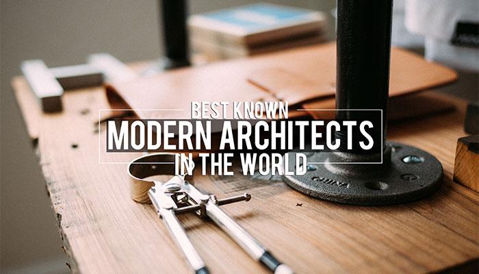 world's best known modern architects
