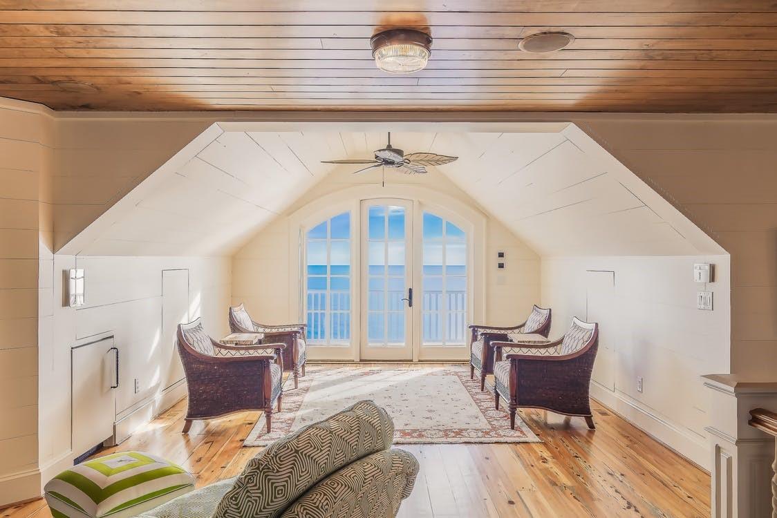 natural light and hardwood floors