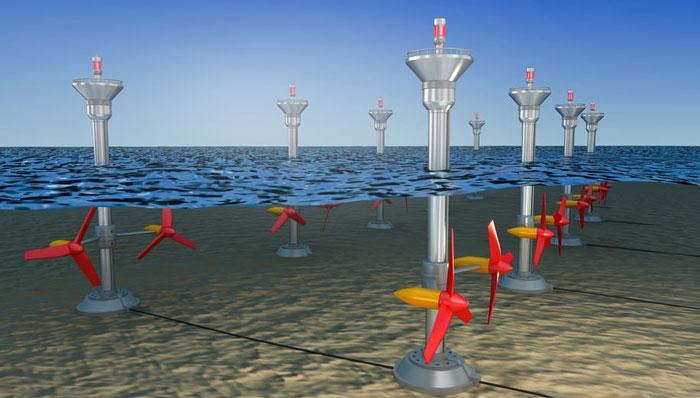 tidal ocean energy